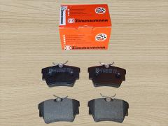 A set of rear brake pads Renault Trafic Opel Vivaro