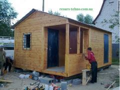 Будиночки дачні, побутовки дачні та будівельні