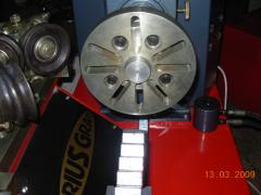 Equipment for straightening discs,discoplay