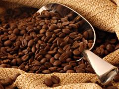 Freshly roasted bean coffee, Arabica, Robusta medium roast