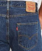 Jeans Levis 501 Original Fit Jeans - Dark Stonewash (USA)