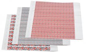 Контрольные браслеты ленточки склад 0,4