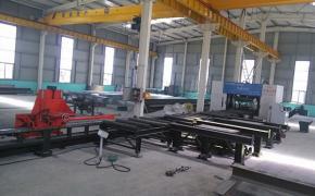 Линии для производства металлоконструкций; пробив