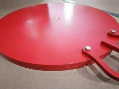 Platform PPG-01, turntable, circle, for trucks (VECPPG-01), analogue of Josam