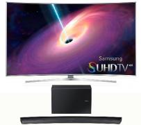 "Samsung 55"" LED 4K SUHD Curved Smart TV"