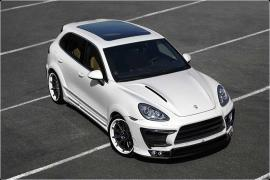 Tuning External Kit body kits Lumma tuning Porsche Cayenne 958